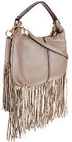 G.I.L.I. got it love it G.I.L.I. Mini Double Zip Fringe Hobo