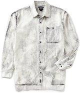 True Religion Tie Dye Long-Sleeve Loose Fit Shirt