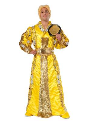 Rubie's Costume Co Men's WWE RIC Flair Grand Heritage Costume