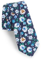 Nordstrom Men's Frenso Floral Cotton Skinny Tie