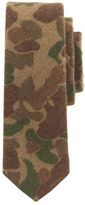 The Hill-Side wool tie in camouflage