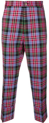 Vivienne Westwood Cropped Plaid Trousers