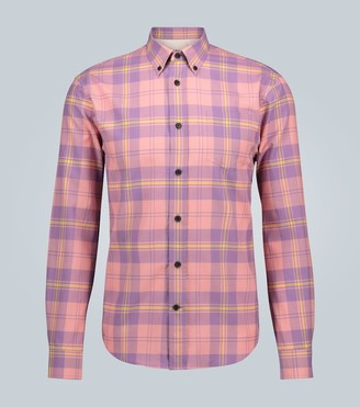 Acne Studios Sarkis Waffle long-sleeved shirt