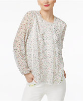 Cynthia Rowley CR By Lace-Trim Top, Only at Macy's