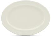 Kate Spade Dinnerware, Fair Harbor White Truffle Large Oval Platter