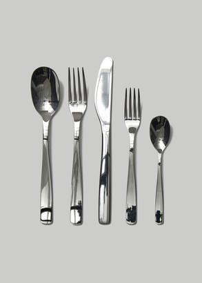 Alessi KnifeForkSpoon Stainless Steel Flatware Set