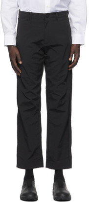 A-Cold-Wall* Black Rhombus Badge Trousers