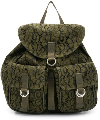 Mr & Mrs Italy Textured Backpack