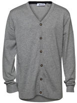 Dex Button-Front Sweater Cardigan