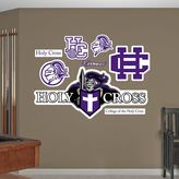 Fathead Holy Cross Crusaders Wall Decals