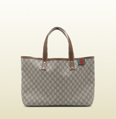 Gucci GG plus tote with signature web loop
