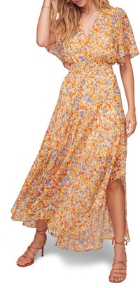 ASTR the Label Sophronia Floral Print Maxi Dress