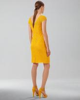 Akris V-Back Cobblestone Knit Dress