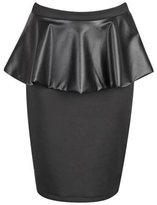 Xclusive Collection New Womens Plus Size Shinny Wetlook PVC Skirts Tops Dress XL