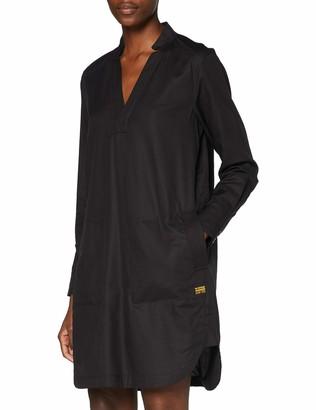 G Star Women's Milary V-Neck Shirt Casual Dress