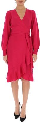 Diane von Furstenberg Kennedy Midi Wrap Dress