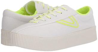 Tretorn Nylite 12 Bold (Vintage White/Fluo Yellow) Women's Shoes