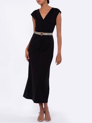 The Row Jeane Dress Black