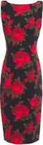 Michael Kors Floral-print Stretch-crepe Dress