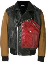 DSQUARED2 bomber biker jacket