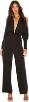 Aq/Aq Larissa Jumpsuit in Black. - size 0 (also in 2,4)