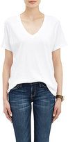 Current/Elliott Women's Jersey T-Shirt-WHITE