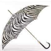 Black Zebra Print Italian Luxury Umbrella