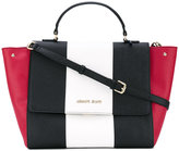 Armani Jeans contrast tote bag - women - Polyurethane/Synthetic Resin - One Size