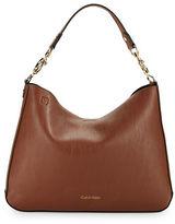 Calvin Klein Faux Leather Hobo
