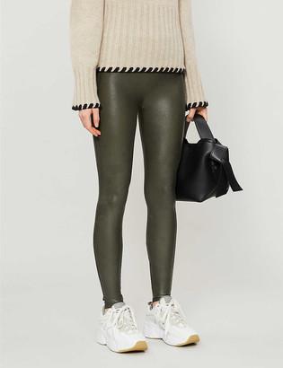 Spanx High-rise stretch-woven leggings