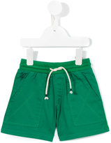 Kenzo Tiger patch shorts - kids - Cotton - 6 mth