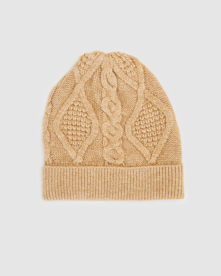 French Connection Women's Hats - Cable Knit Beanie - Size One Size, 00 at The Iconic