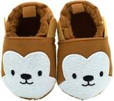 Baby Boys Girls Shoes HooH Moccasins Soft Sole Pre-walker Crib Cute Animal Toddler Shoes