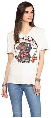 Double D Ranchwear Dach Cowboy Tee (String) Women's Clothing