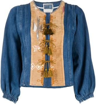 Forte Forte Tassel-Detail Denim Jacket