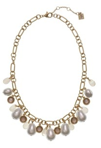 Laundry by Shelli Segal Shakey Pearl Necklace