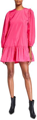 Cinq à Sept Jackie Long-Sleeve Mini Dress