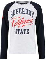 Superdry Calif State Long Sleeved Top Ice Marl