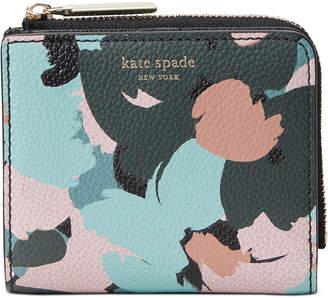 Kate Spade Margaux Brush Bloom Bifold Wallet