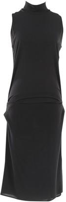 Cividini Black Silk Dresses