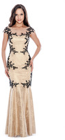 Decode 1.8 Illusion Lace Gown 183113