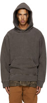 Yeezy Brown Fleece Hoodie