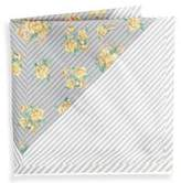 hook + ALBERT Atoll Silk Pocket Square