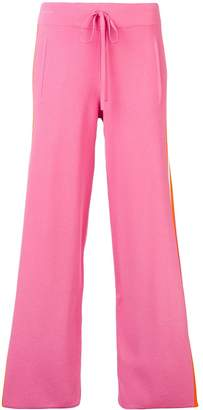 P.A.R.O.S.H. side stripe straight trousers