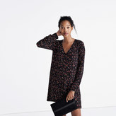 Madewell et Sézane® Silk Elly Shirtdress in Floral Print