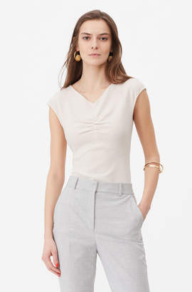 Rebecca Taylor Tailored Crepe Top