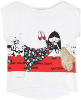 Little Marc Jacobs Red Rug Miss Marc T-Shirt