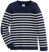 Petit Bateau Boys striped nautical sweater