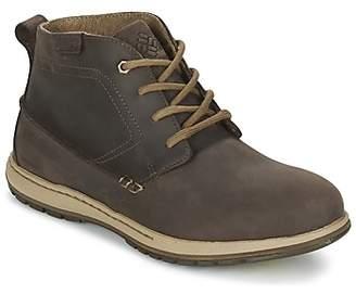 Columbia DAVENPORT CHUKKA WATERPROOF LEATHER men's Walking Boots in Brown