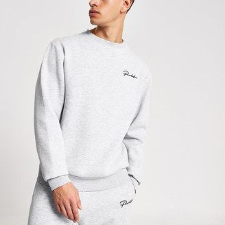 River Island Prolific grey regular fit sweatshirt